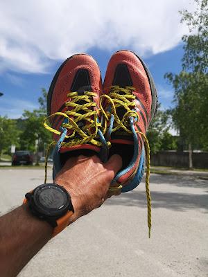 Tørre og rene sko etter BB-løpet er ikke en selvfølge