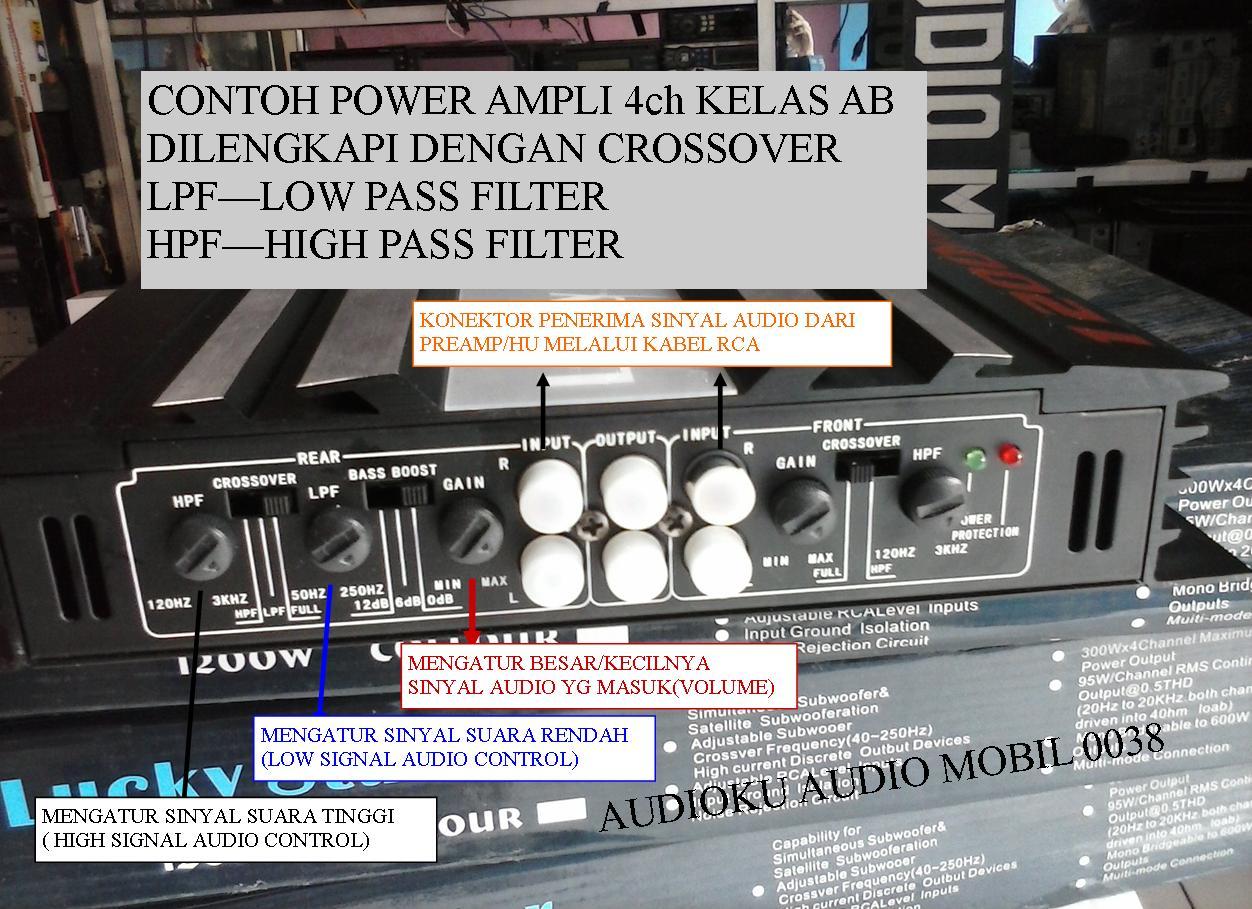 power amplifier 4ch kelas ab audioku audio mobil. Black Bedroom Furniture Sets. Home Design Ideas