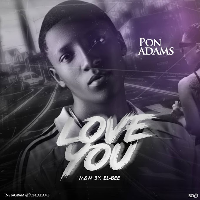Music: Pon Adams - Love You [M&M By EL Bee]