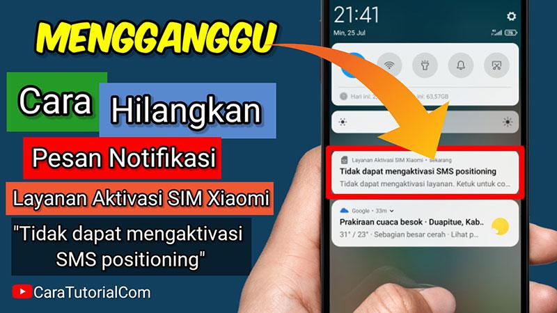 Cara Mengatasi Tidak dapat mengaktivasi SMS positioning pada HP Xiaomi