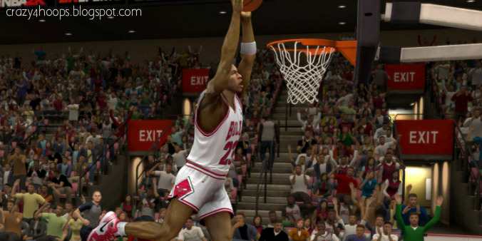 Michael Jordan Dunk Screenshot NBA 2k14