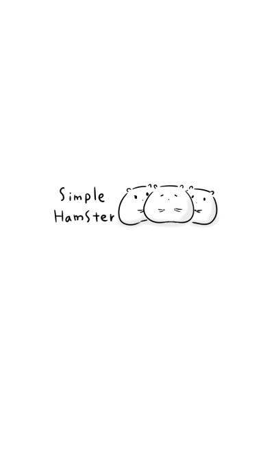 simple hamster theme.