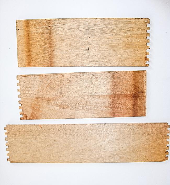 How to repurpose damaged drawers