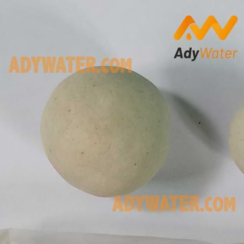 ceramic ball, gas treatment, adsorpsi