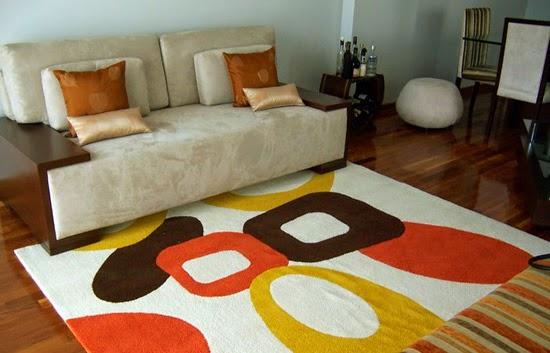 la alfombra para tu casa, combínala con madera o piso | quiroz