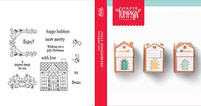November 2020 Jolly Gingerbread Paper Pumpkin Stamp Case Insert #paperpumpkin