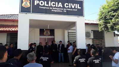 Carlesse fechar Delegacia Regional de Polícia de Araguatins - TO