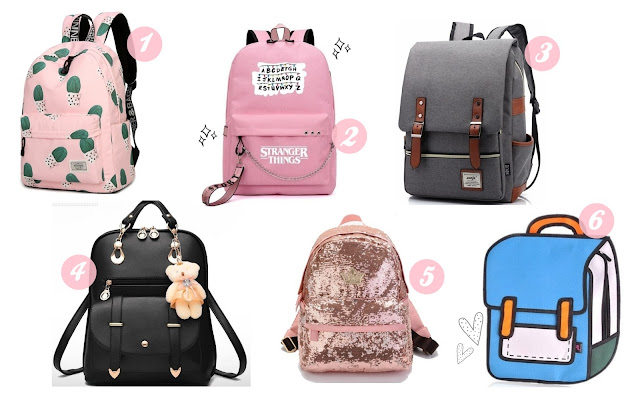wishlist de volta as aulas - as mochilas mais legais da internet