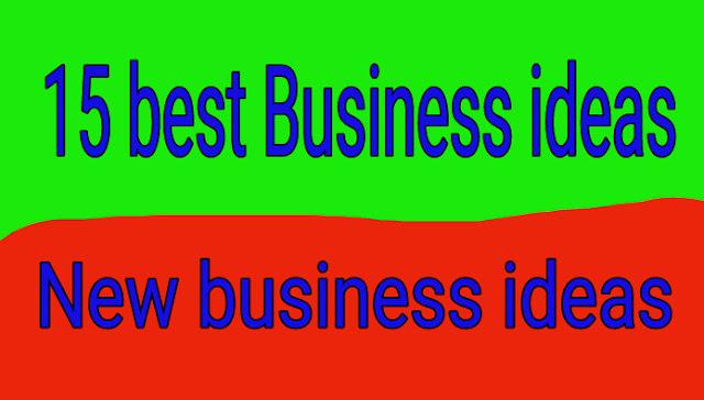 Best 15 business ideas, profitable business ideas