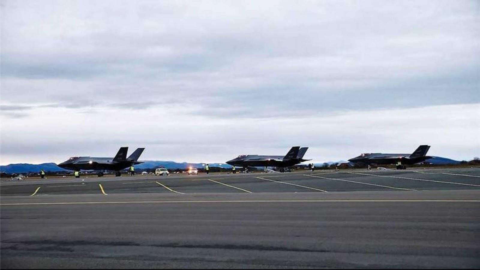 Angkatan Udara Norwegia kembali menerima tiga F-35A