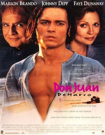 Poster Of Don Juan DeMarco 1994 English 300MB BRRip 576p ESubs Watch Online Free Download downloadhub.net