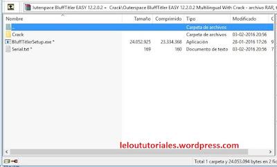Outerspace BluffTitler Easy v12.2.0.2 + Crack + Portable [Full] [MEGA]
