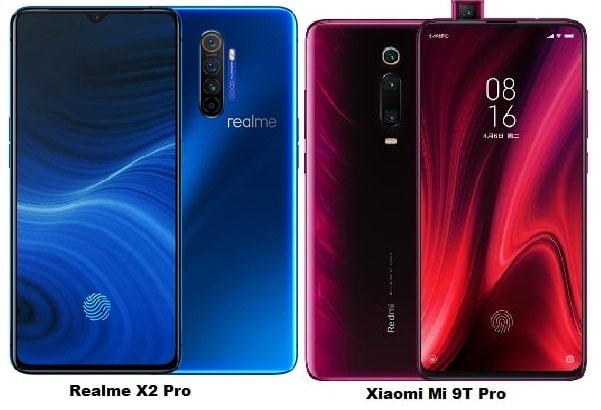 Realme X2 Pro Vs Xiaomi Mi 9T Pro Specs Comparison