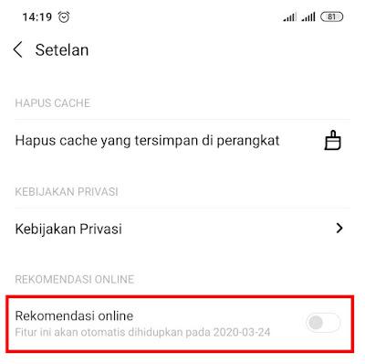 Cara Menghilangkan Iklan di Xiaomi Redmi 4X