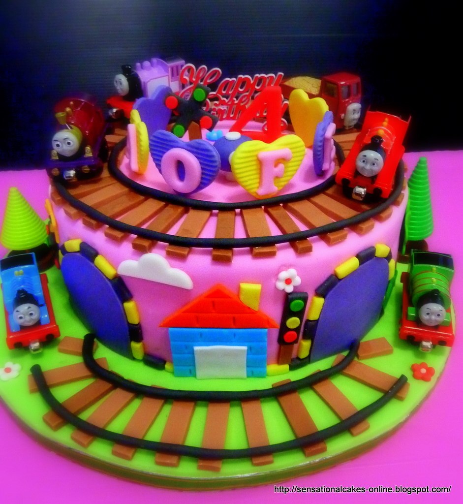 The Sensational Cakes Thomas The Train 3d Train Theme