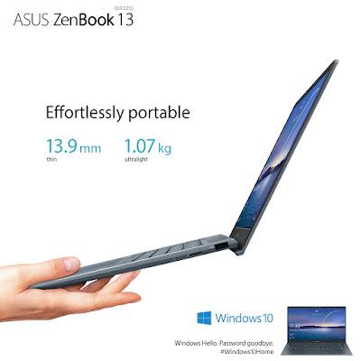 Asus PH - Zenbook - UX325 - UX425 - Intel - Portability
