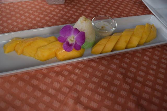 sticky mango rice