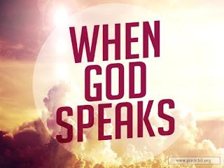 When God Speaks - Seeds Of Destiny SOD, 13 November 2020