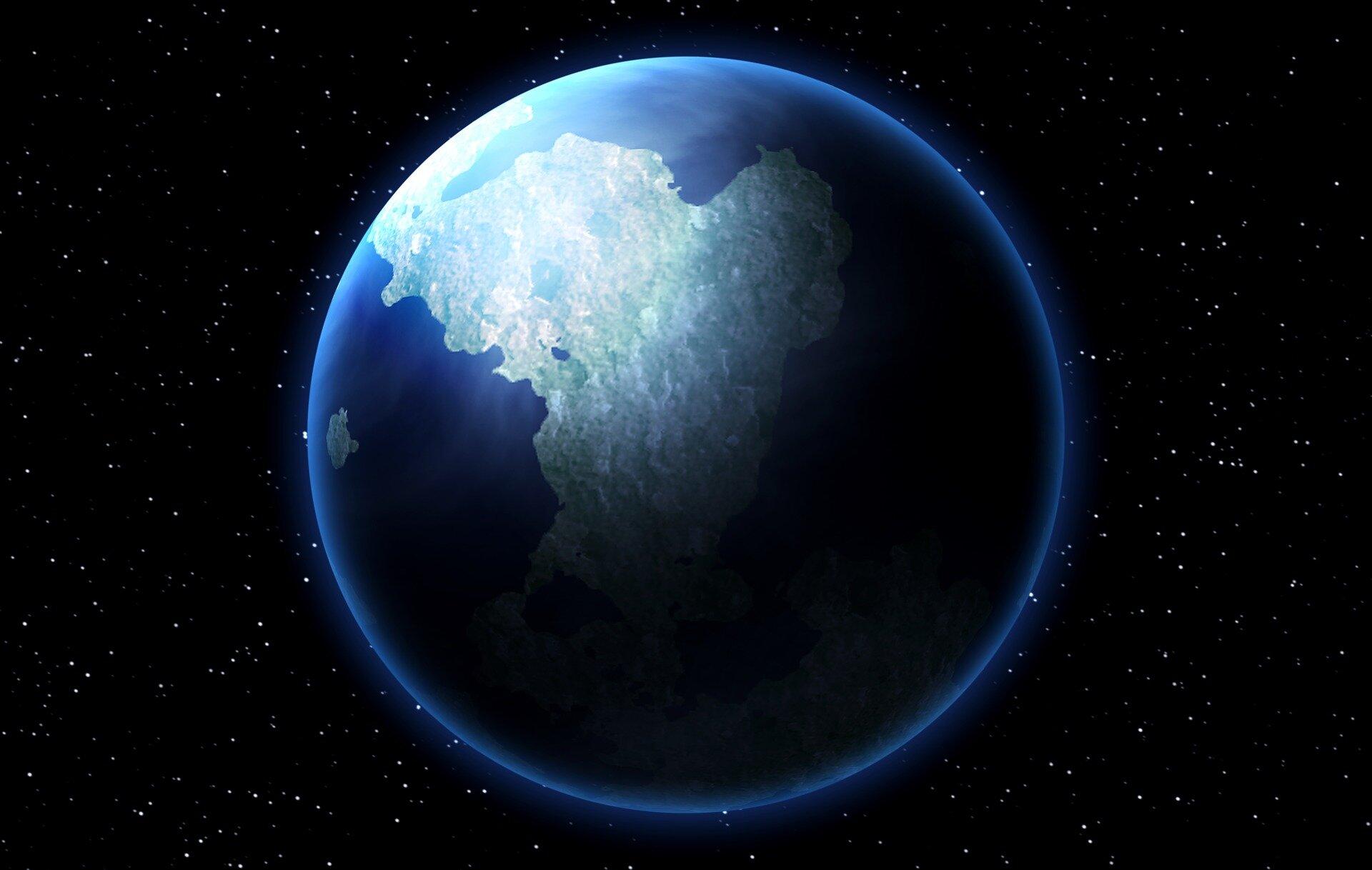 ذرات باد خورشیدی در مرکز زمین