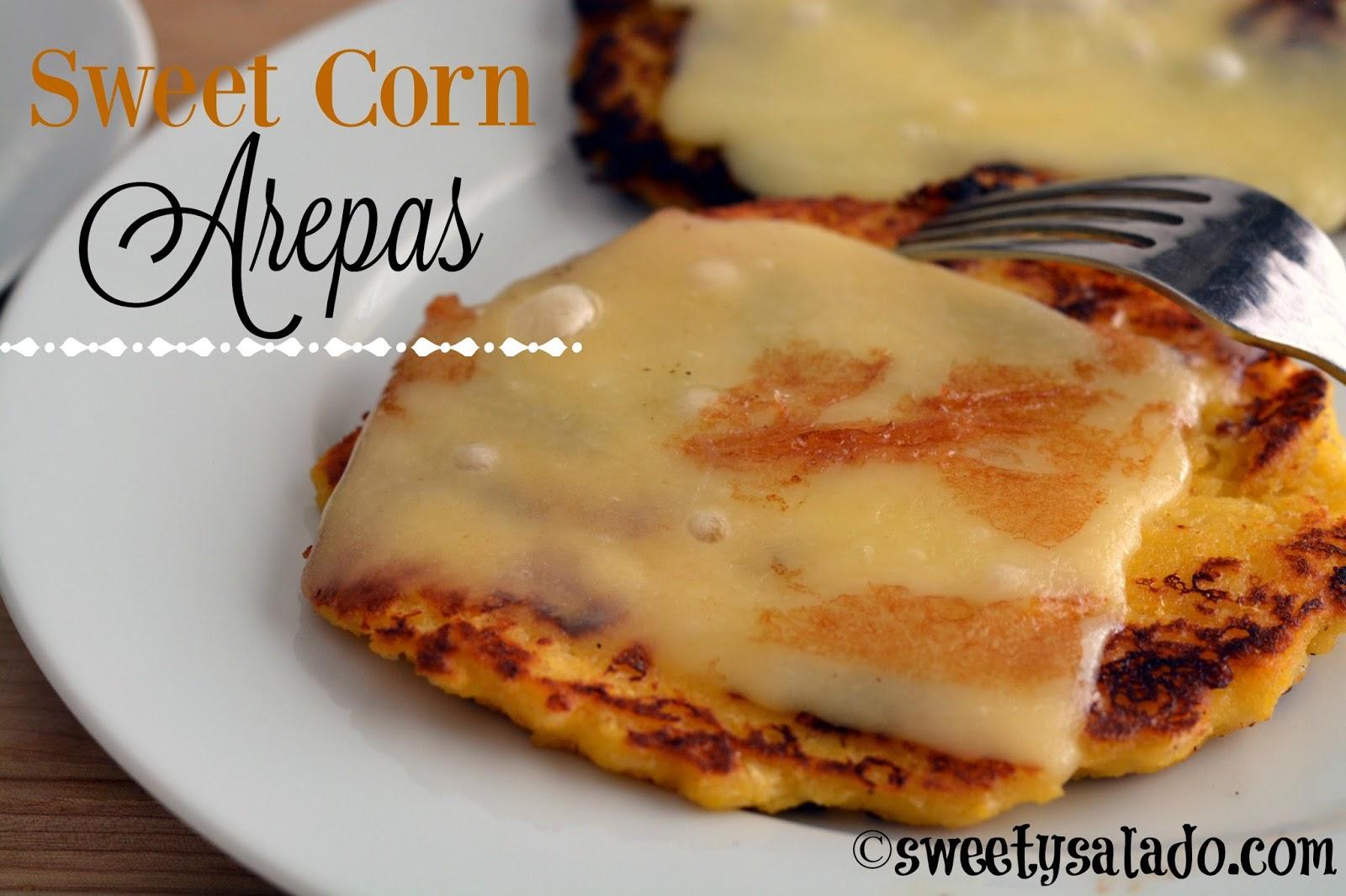 Sweet Corn Arepas Sweet Y Salado