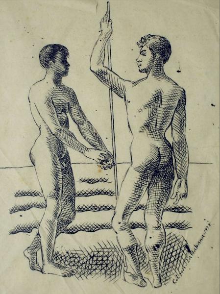 Dibujo sin titulo, 1938
