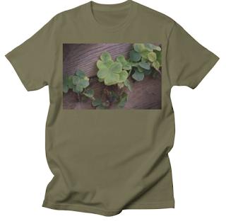 Lucky or Determined? Saint Patrick's Day Shamrocks T-Shirt