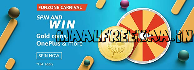 Spin wheel and win prizes this month