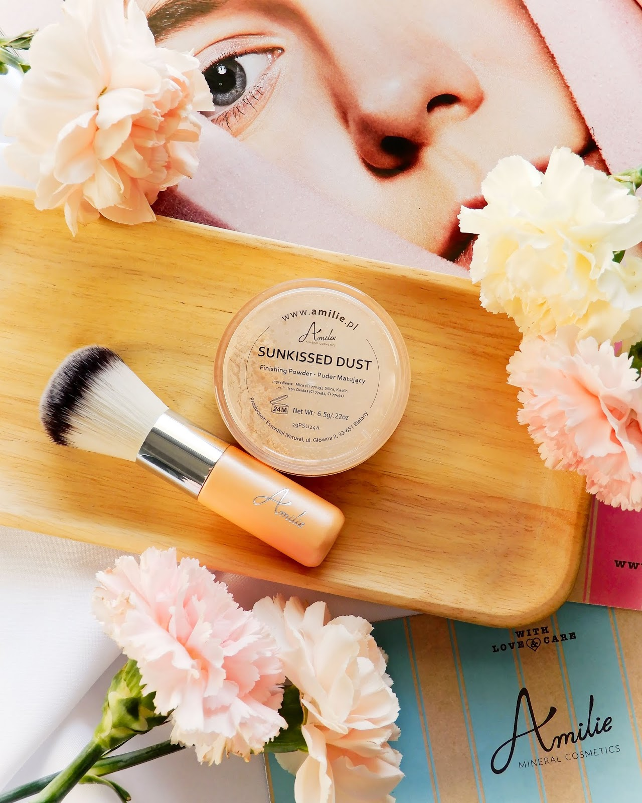 Amilie Mineralny Puder Sunkissed Dust,