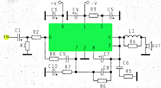 60Watt ICs amplifier with OM931