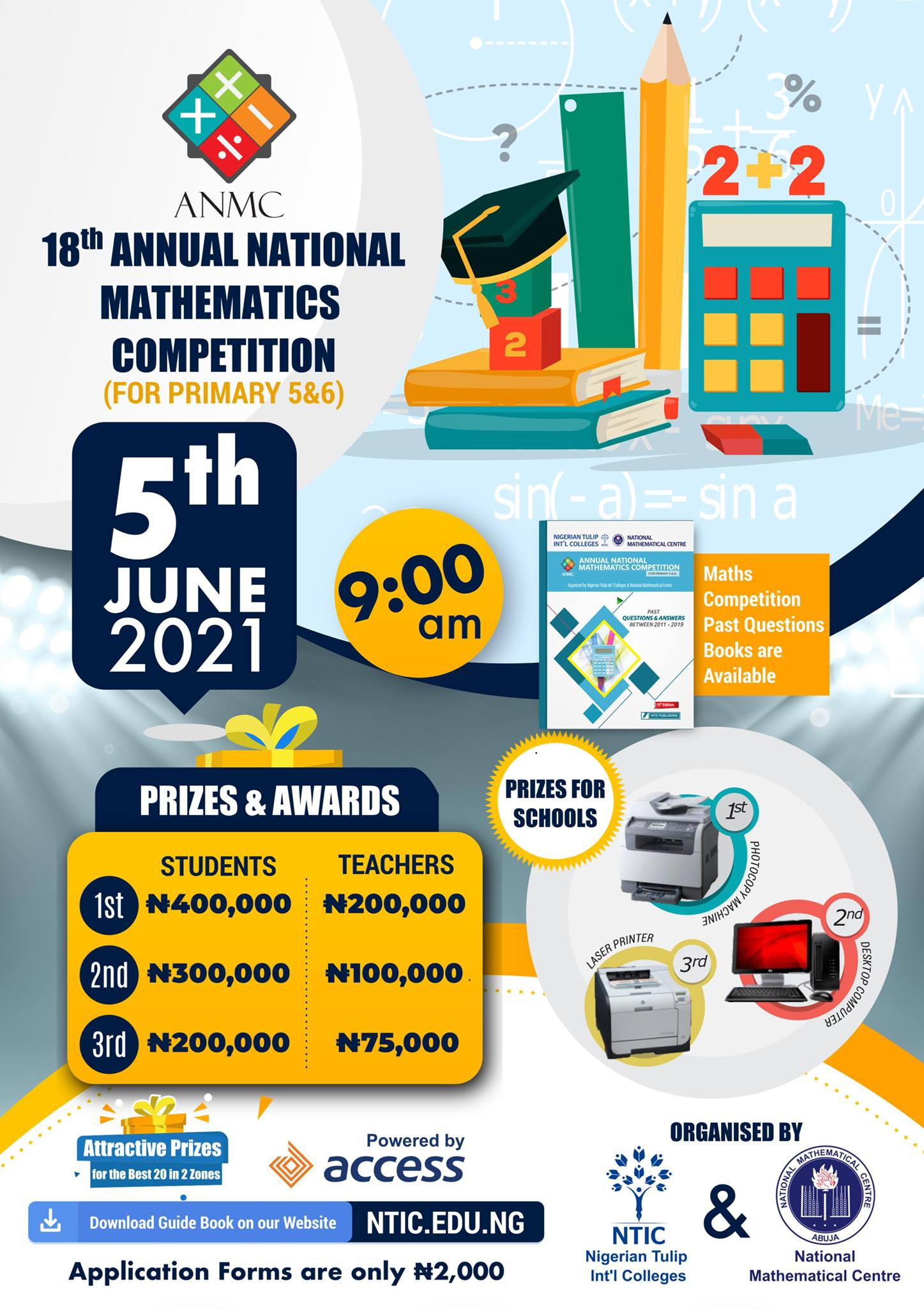 18th NTIC ANMC Competition Registration Guidelines 2020/2021
