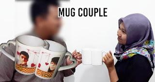 Mug couple merupakan salah satu inspirasi kado unik untuk orang yang tersayang di hari valentine