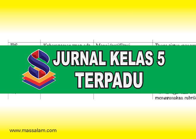 Download Jurnal Kelas 5 Tema 9 K13 Revisi 2017 Terbaru dan Terpadu