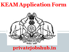 KEAM Application Form
