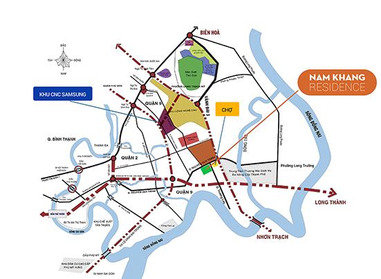 Vị Trí Chiến Lược Nam Khang Residence