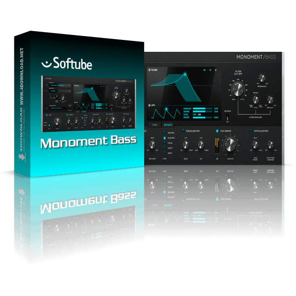 Softube Monoment Bass v2.5.9 Full version
