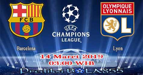 Prediksi Bola855 Barcelona vs Lyon 14 Maret 2019