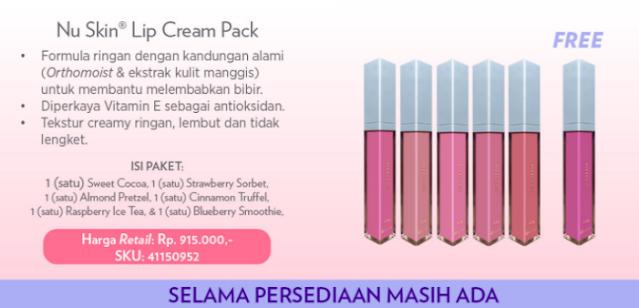 Promo Nu Skin Lip Cream Pack Desember 2020