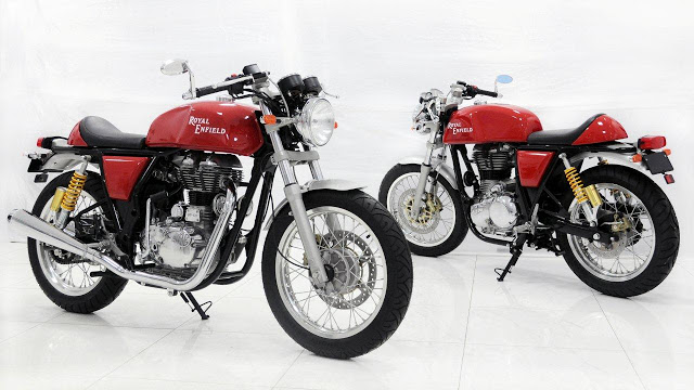 Royal Enfield Cafe Racers