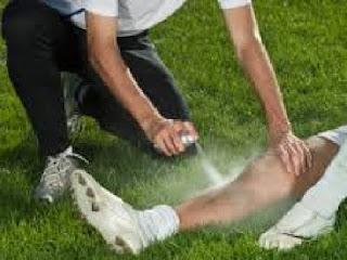 pengobatan dengan etil chlor spray meredakan ketegangan otot