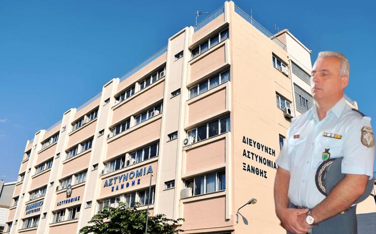 Παραμένει Αστυνομικός Διευθυντής Ξάνθης ο Πασχάλης Γιώρης