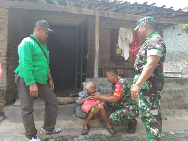 Hari Juang TNI AD, Kodim Klaten Bagikan Sembako Untuk Warga Pra Sejahtera