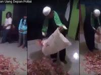 Mirip Dimas Kanjeng, Ustaz Ini Gandakan Uang Disaksikan Polisi