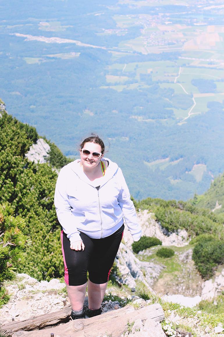 Climbing Untersberg