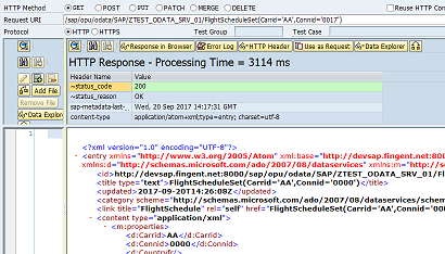 Debugging SAP Gateway Service - SAP ABAP,SAPUI5,SAP HANA,SAP