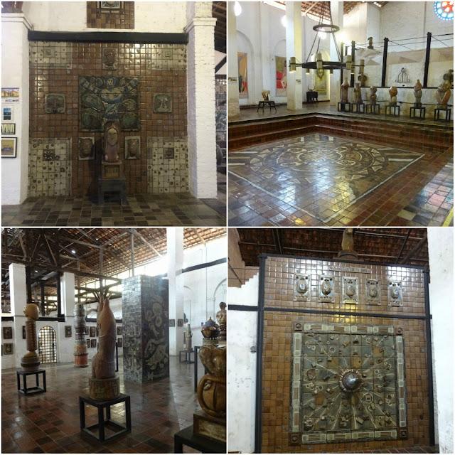 Arte em Recife: Instituto Oficina Cerâmica Francisco Brennand