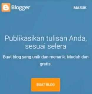 cara membuat blog di hp sampai menghasilkan