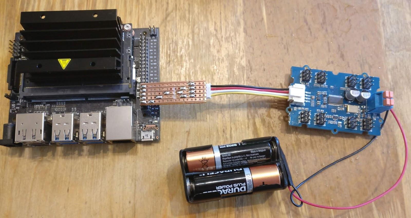 RAREblog: Sambot - MeArm, servos, the Babelboard and Jetson Nano