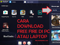 Cara Download dan Main Free Fire di PC atau Laptop