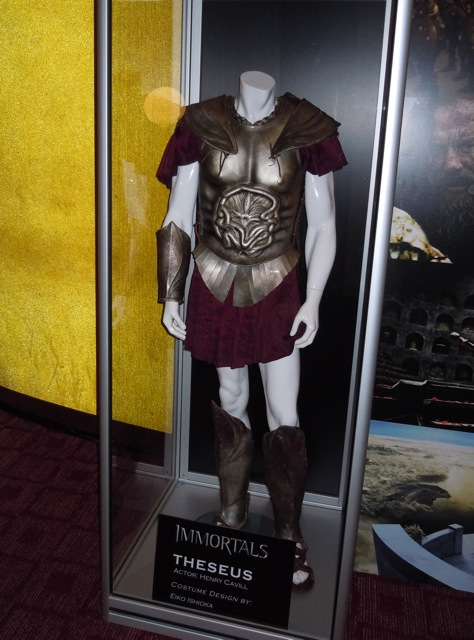 Immortals Theseus movie costume