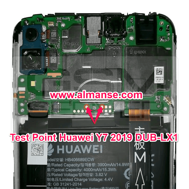 Test Point Huawei Y7 2019 DUB-LX1